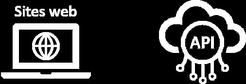 Sites web, API